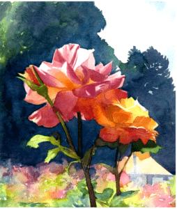 Art in the Rose Garden