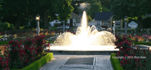 Peninsula Park Rose Garden Fountain