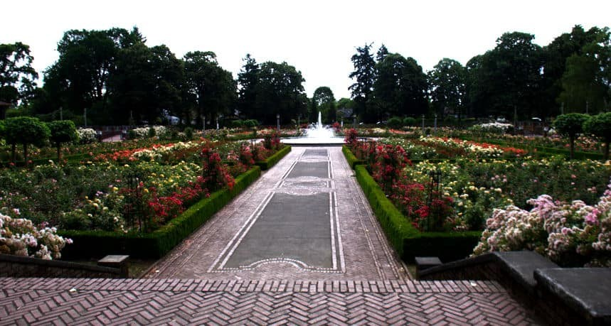 Peninsula Park Rose Garden West Entrance