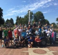 Peninsula Park Rose Garden Volunteers