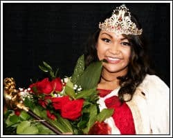 Rose Queen Michaela Canete