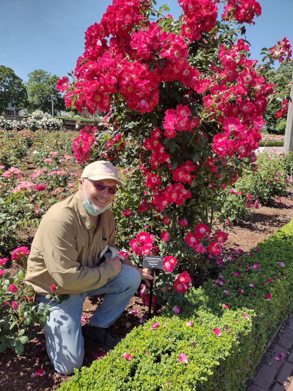 Mark Smallwood and Adopt-A-Rose Marker image